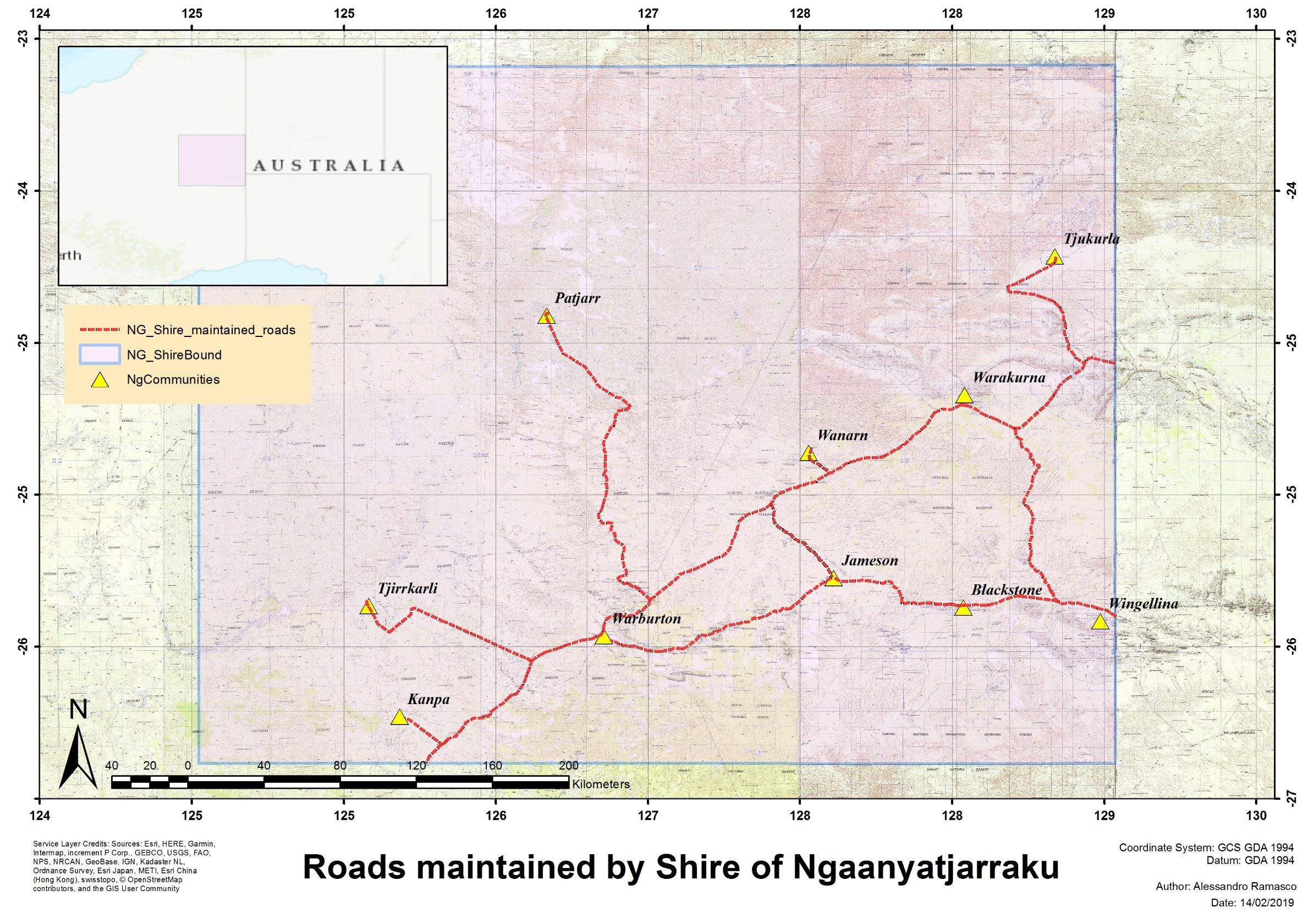 NG shire roads reduced